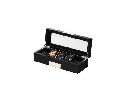 Box na hodinky Rothenschild RS-2350-5BL černý