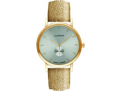 Dámské hodinky LARS LARSEN 144GTG3-GGOLD18