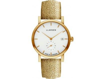 Dámské hodinky LARS LARSEN 137GWG3-GGOLD18