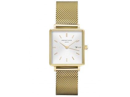 Dámské hodinky Rosefield QWSG-Q03 The Boxy