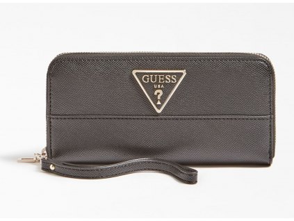 CARYS WALLET WITH LOGO AND LONG ZIPPER PULL