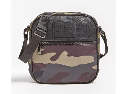 NEW PHIL CROSSBODY BAG CAMOUFLAGE PRINT