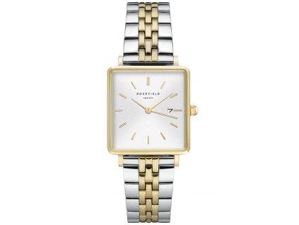 Dámské hodinky Rosefield QVSGD-Q013 The Boxy