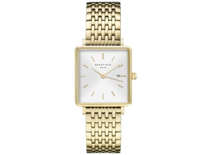 Dámské hodinky Rosefield QWSG-Q09 The Boxy