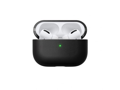 Nomad Leather case, black - AirPods Pro