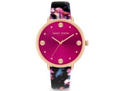 Dámské hodinky Daisy Dixon DD116BP Kendall + kabelka