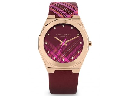 Dámské hodinky Daisy Dixon DD118PRG Alessandra + kabelka