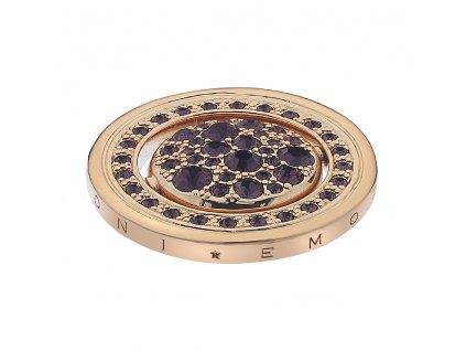 Přívěsek Hot Diamonds Emozioni Alba e Tramonto Rose Gold Coin
