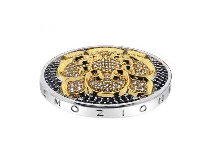 Přívěsek Hot Diamonds Emozioni Fiore di Loto Gold Coin