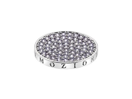 Přívěsek Hot Diamonds Emozioni Scintilla Lavender Calmness Coin