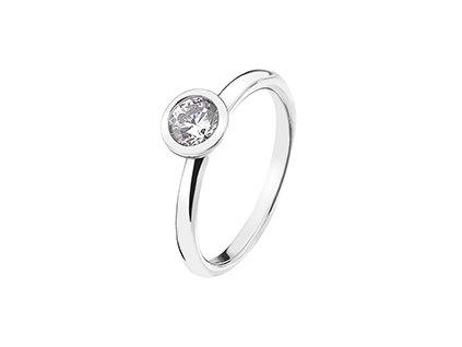 Stříbrný prsten Hot Diamonds Emozioni Scintilla Clear Innocence