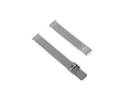 Řemínek na hodinky Cluse CLS345 16 mm stříbrný
