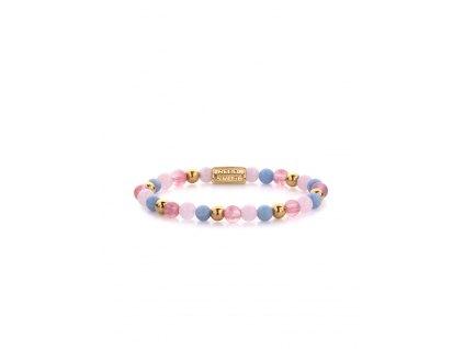 Dámský náramek Rebel & Rose Pink Summer Vibes II RR-60055-G-S