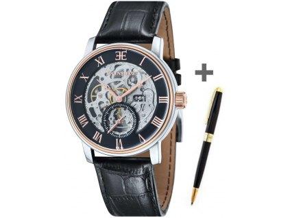 Pánské hodinky Thomas Earnshaw ES-8041-04-Set-Regency-Ball-Pen + pero