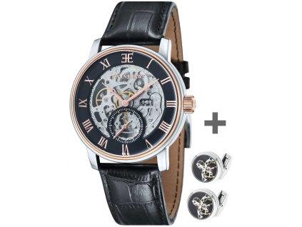 Pánské hodinky Thomas Earnshaw ES-8041-04-Set-Cufflinks + manžetové knoflíčky