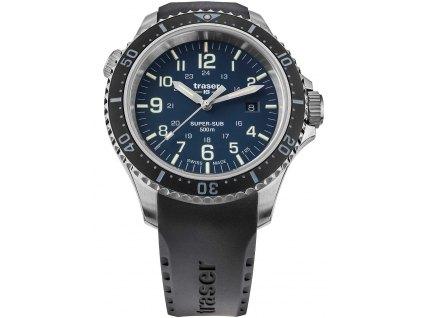 Pánské hodinky Traser H3 109374 P67 T25 SuperSub Blue