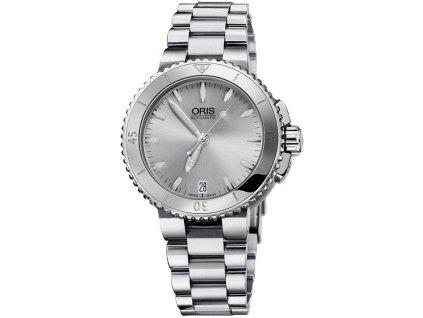 Dámské hodinky Oris 0173376524141-0781801P Aquis