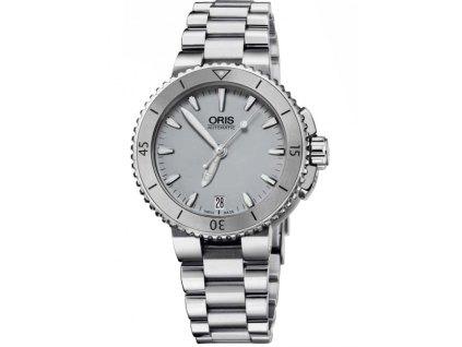 Dámské hodinky Oris 0173376524143-0781801P Aquis