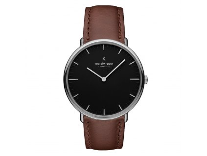 Unisex hodinky Nordgreen NR36SILEDBBL