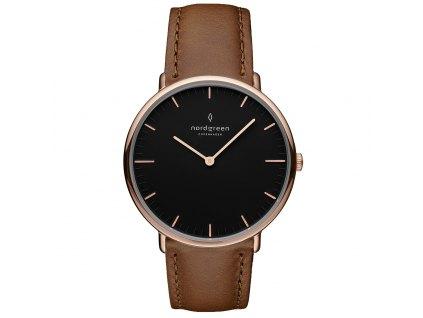 Unisex hodinky Nordgreen NR36RGLEDBBL
