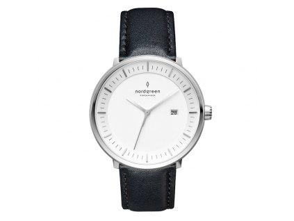 Unisex hodinky Nordgreen PH40SILEBLXX