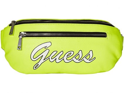 GUESS Skools Out Belt Bag neon