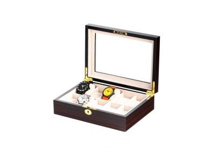Box na hodinky Rothenschild RS-1087-10E ebony