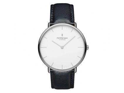 Unisex hodinky Nordgreen NR40SILEBLXX