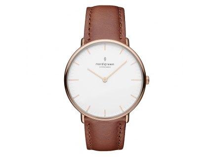 Unisex hodinky Nordgreen NR36RGLEBRXX