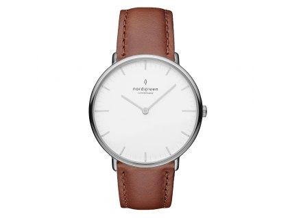 Unisex hodinky Nordgreen NR36SILEBRXX