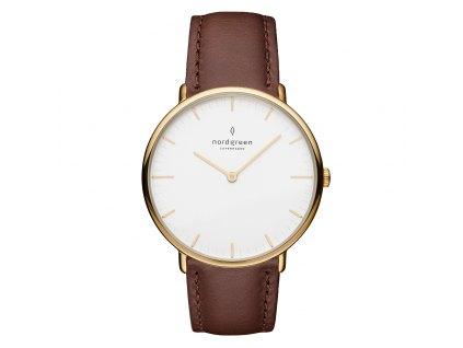 Unisex hodinky Nordgreen NR36GOLEDBXX