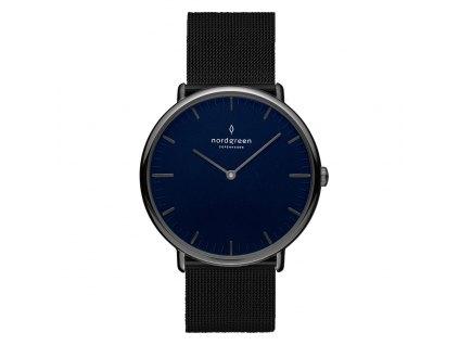 Unisex hodinky Nordgreen NR36GMMEBLNA