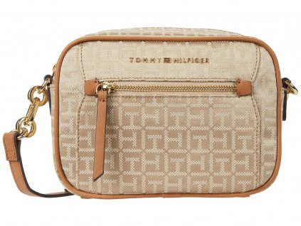 Tommy Hilfiger Macon Crossbody hnědá