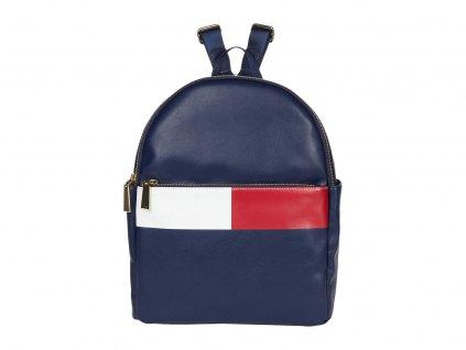 Tommy Hilfiger Sirina 1.5 Backpack Flag Smooth modrá