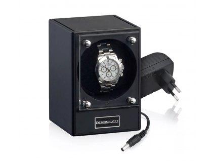 Natahovač hodinek Designhütte Piccolo Black 70005-87