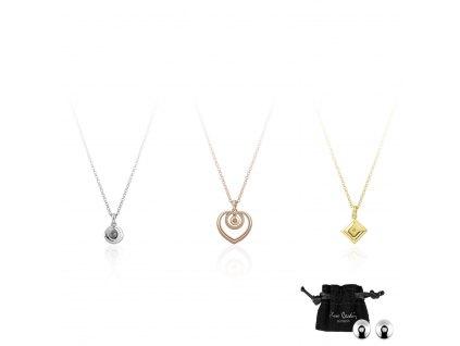 Set náhrdelníků Pierre Cardin PCDXX7978