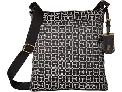 Tommy Hilfiger Julianne Square Messenger Jacquard black