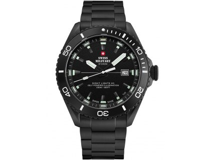 Pánské hodinky Swiss Military SM34080.03 Night Lights