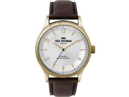 Pánské hodinky Ben Sherman WB025TG Spitalfields Vinyl City