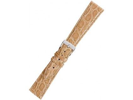Řemínek na hodinky Morellato A01X2197052026CR20 hnědý krokodýl