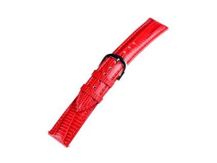 Řemínek na hodinky Bossart 20 mm červený