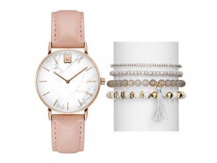 Dámské hodinky dárkový set Glamour GL50284006