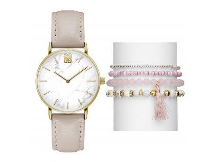 Dámské hodinky dárkový set Glamour GL50284005