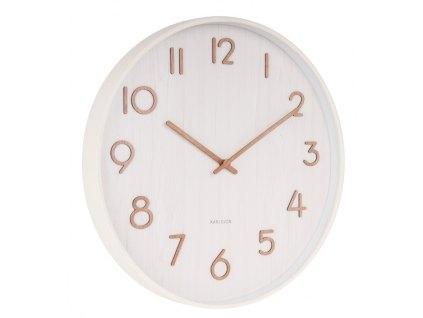 Designové nástěnné hodiny 5809WH Karlsson 40cm 2. jakost
