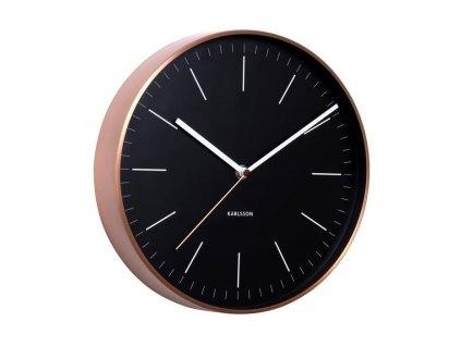 Designové nástěnné hodiny 5507BK Karlsson 28cm 2.jakost