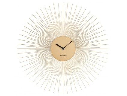 Designové nástěnné hodiny 5817GD Karlsson 45cm vrácené zboží