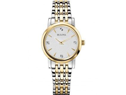 Dámské hodinky Bulova 98P115 Classic Diamant