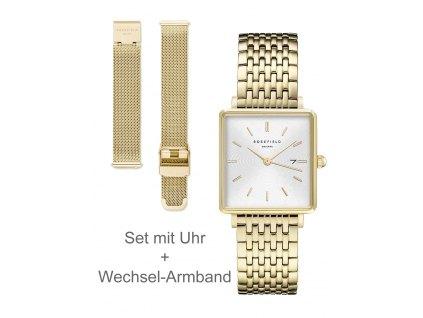 Dámské hodinky Rosefield BWSBG-X242 The Boxy set