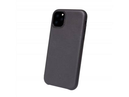 Decoded Leather Backcover, black-iPhone 11 Pro Max