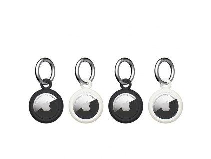 U by UAG Dot Keychain 4 Pack blk/mw - Apple AirTag